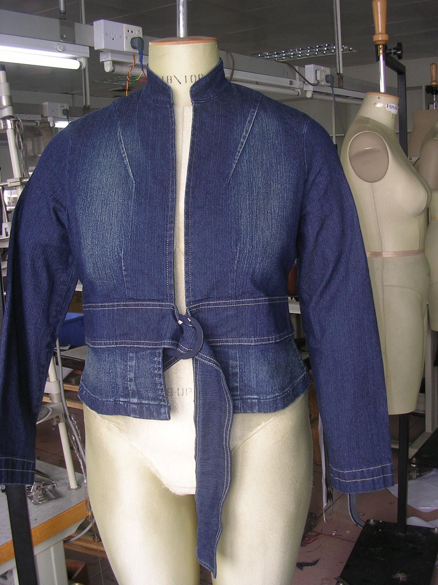 Jean Jacket Junior Plus Size
