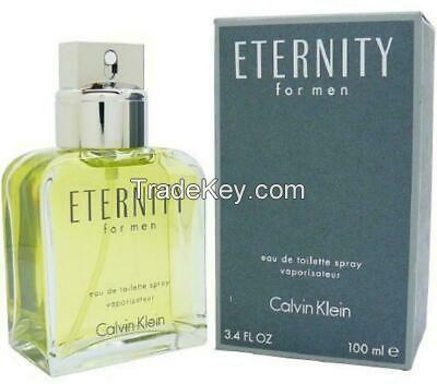 CALVIN KLEIN ETERNITY *FOR MEN* 3.4oz / 100ml EDT SPRAY *CK PERFUME* NEW SEALED