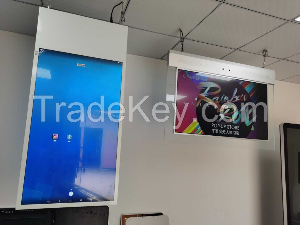 Double Side Hanging Digital Signage