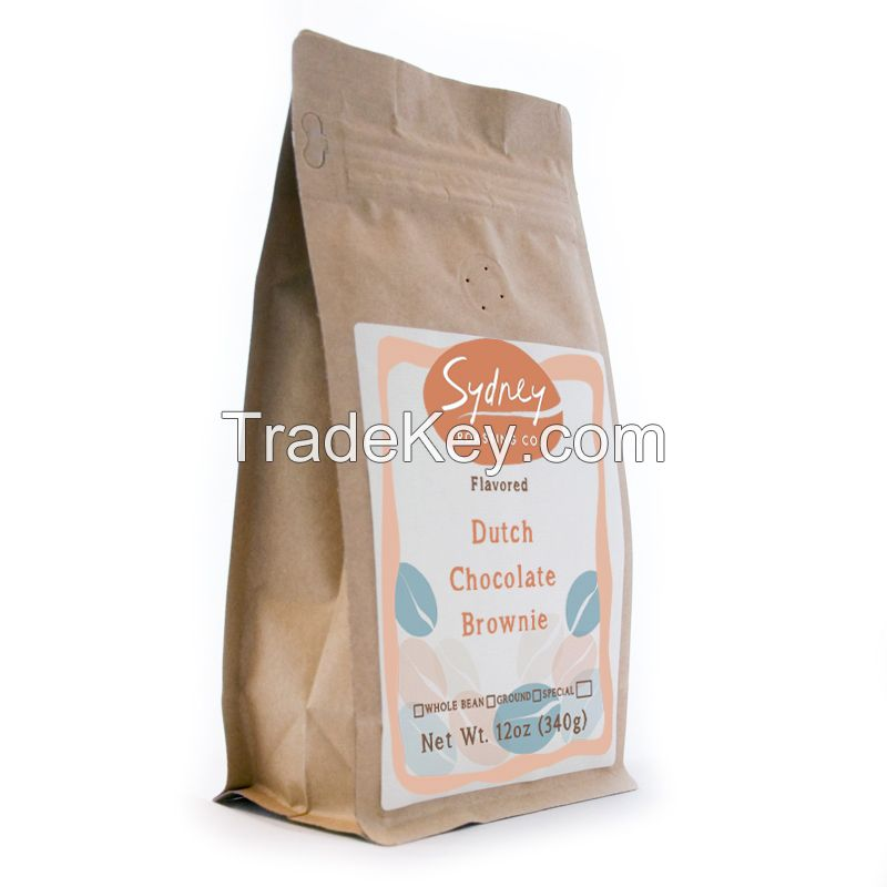 Case of 12oz Dutch Chocolate Brownie Flavored Freshly Roasted Specialty Grade Coffee by Sydney Roasting Co Ground