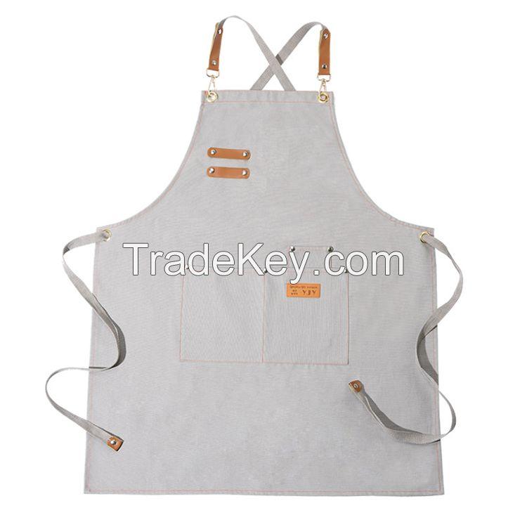 Multicolor Industrial Heavy Duty Cotton Canvas Cobbler Apron with Pockets