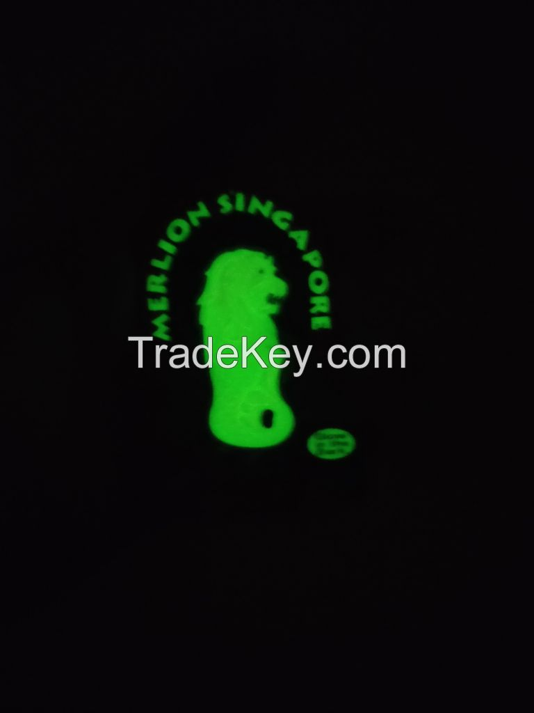 Silicon and PVC key chain