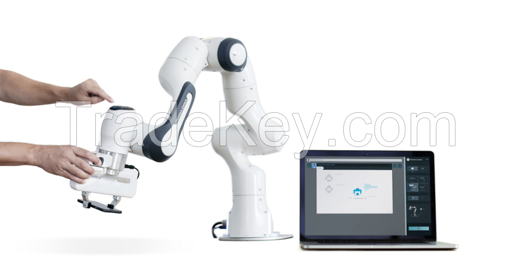Franka Emika robot FCI Feature version with a load of 3kg and a working area