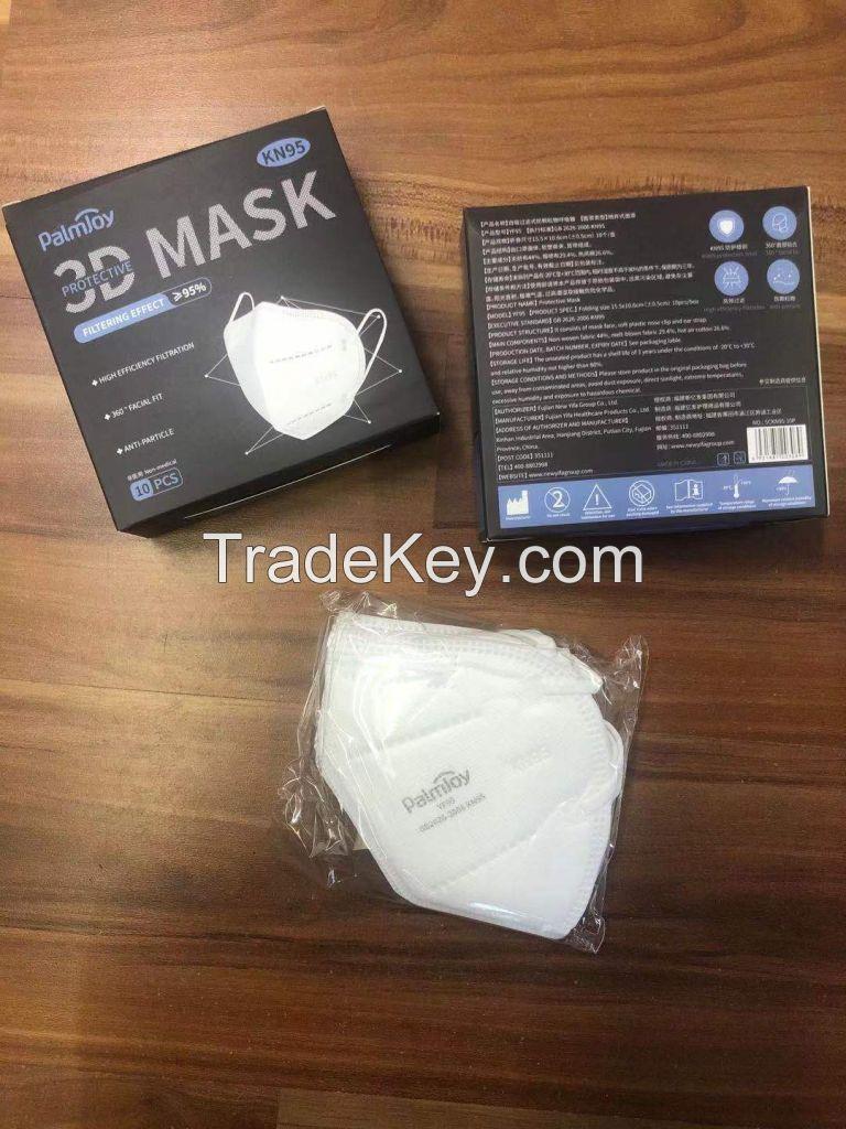 KN95 Face Mask - Palmjoy 3D Protective Face Mask