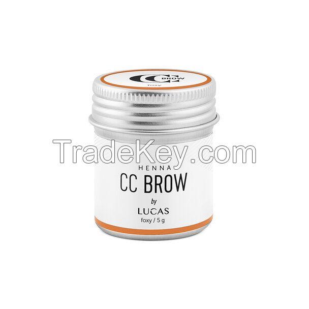 Brow Henna CC Brow in jar, 5 g