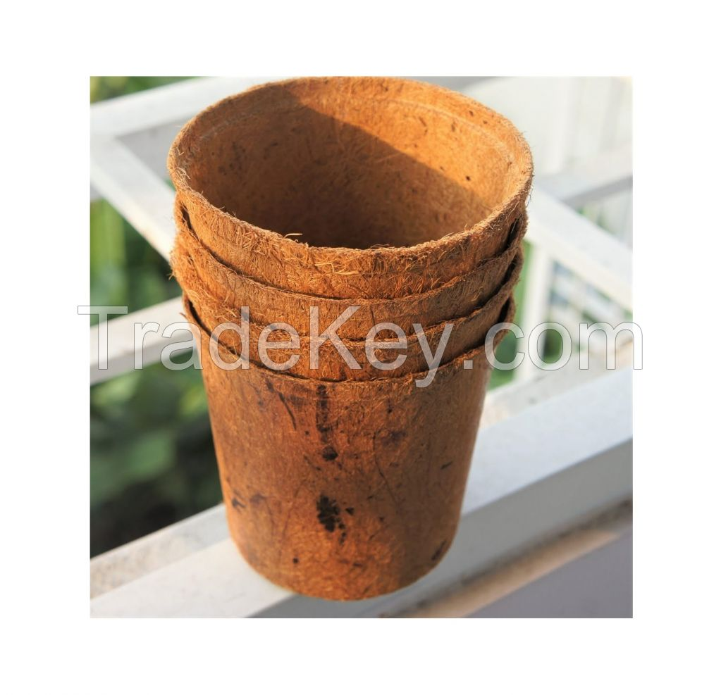 High Grade Gardening Plants Coir Fiber Pot At Factory Price Manufacturer ( Annie 0084702917076 WA )