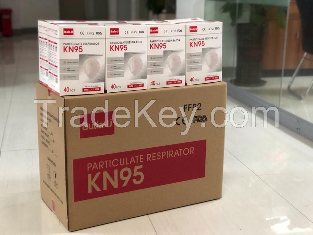 KN95 PARTICULATE RESPIRATOR FACE MASK