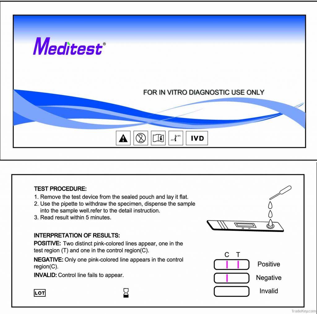 Anti HBSAG Test Kits (HCV / HBV Kits)