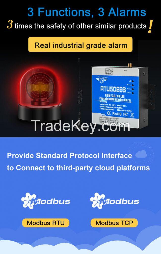 RTU5029S Modbus RTU Power Failure Monitoring Alarm System IOT Gateway