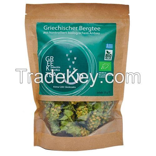 Loose organic Mountain tea or Packaged in Tea bags