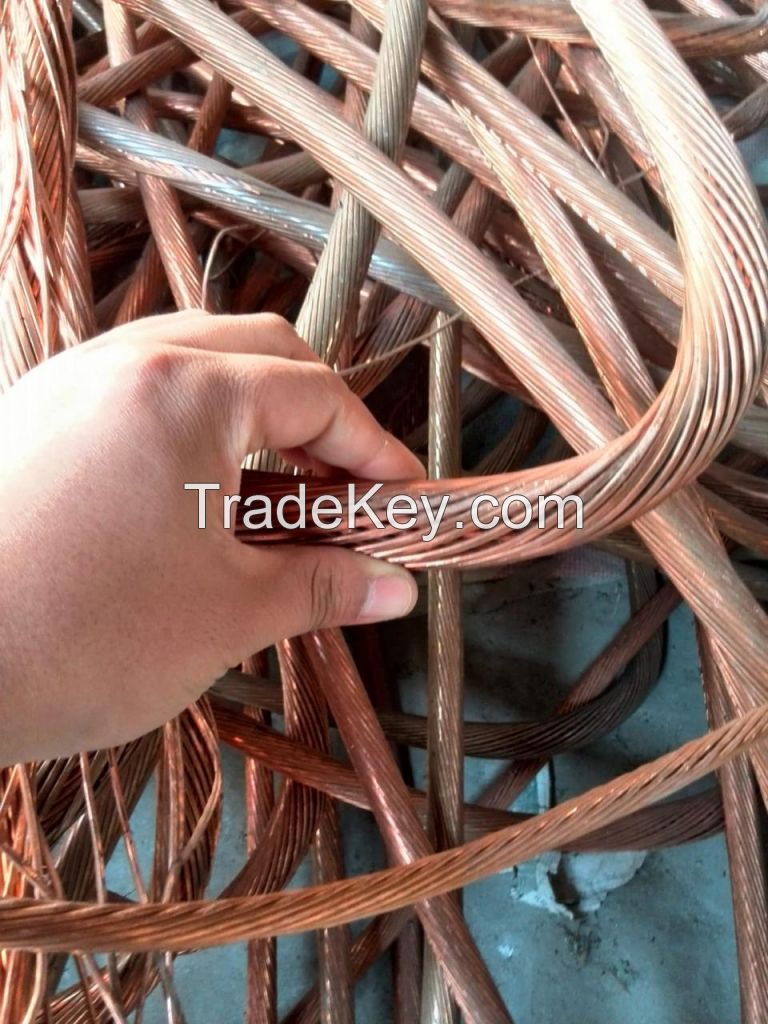 FIRST GRADE MILLBERRY COPPER WIRE SCRAP