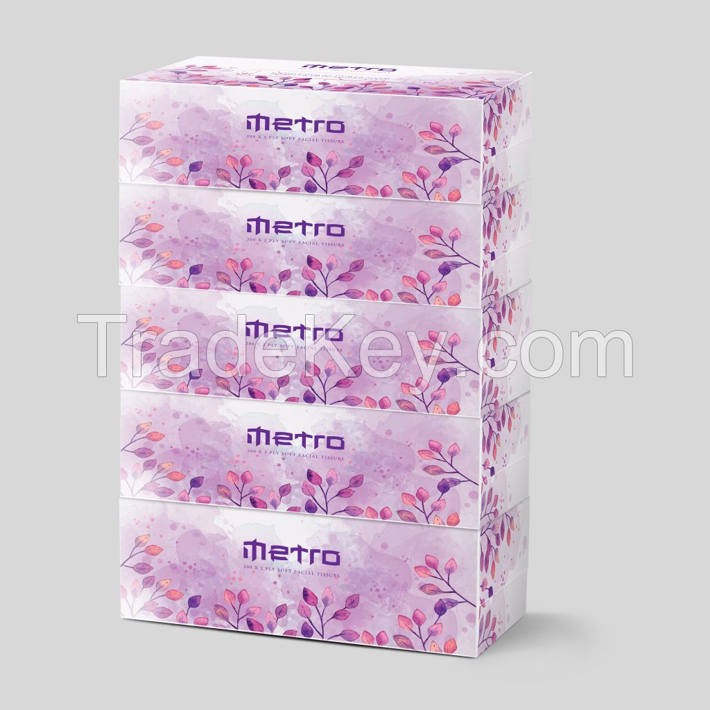 Metro Facial tissue paper