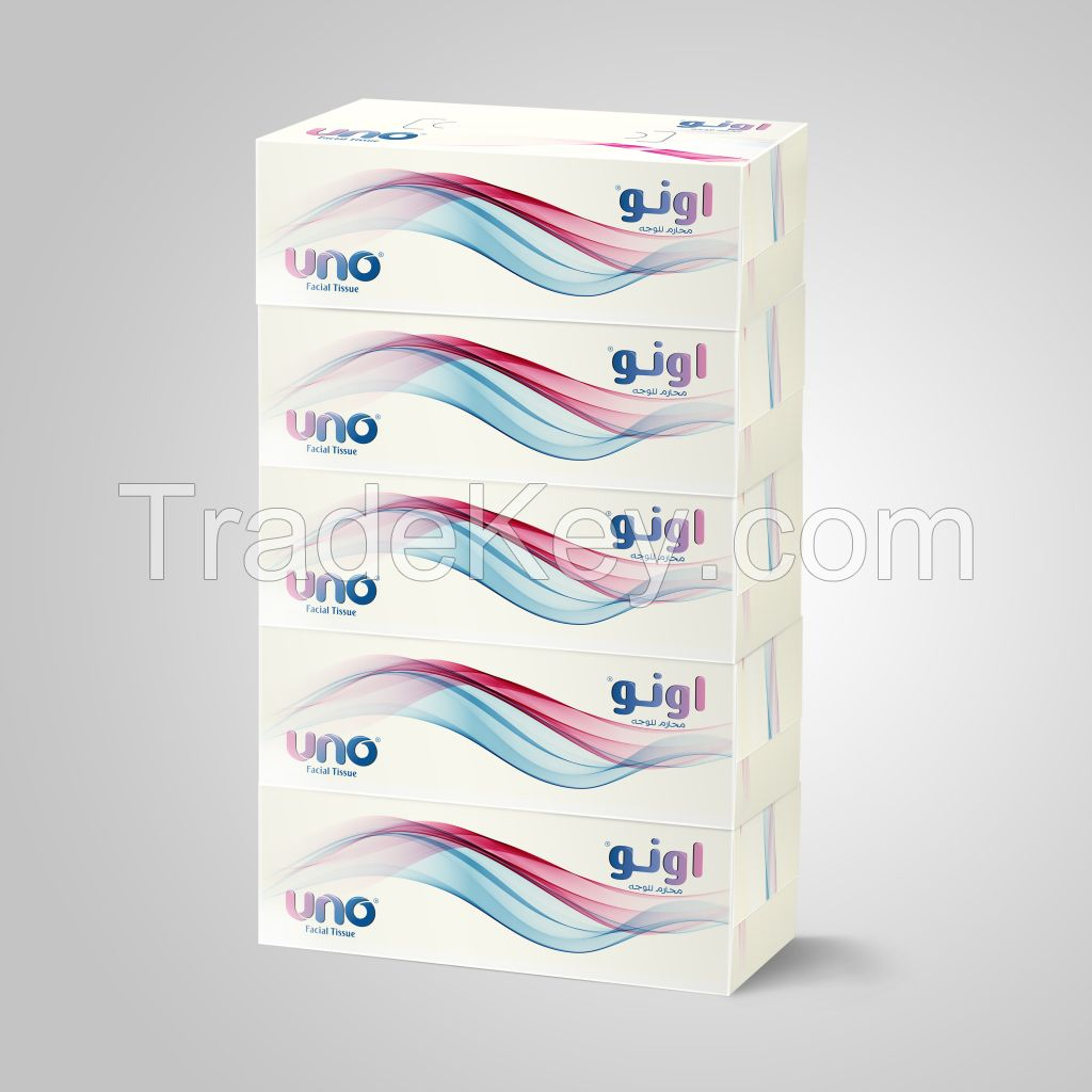 UNO Facial tissue paper