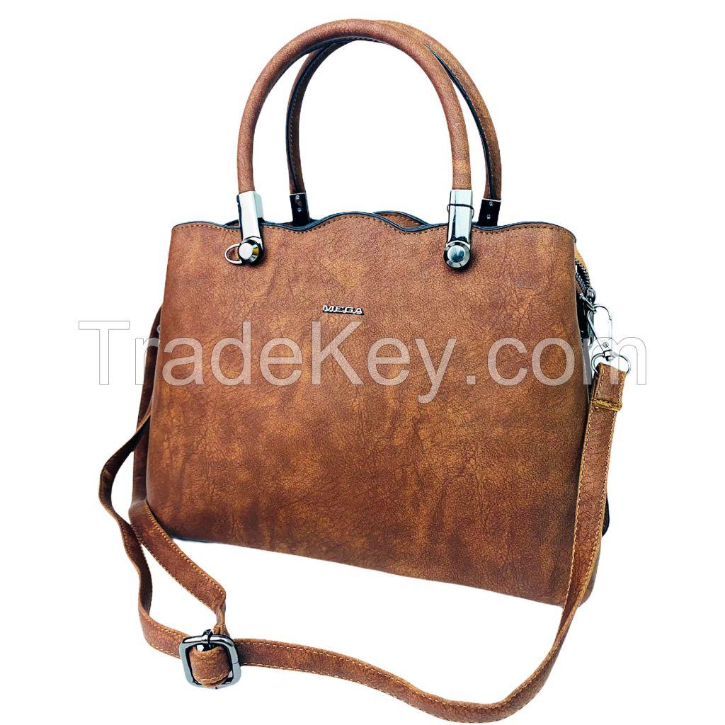Women Handbag Shoulder Bag High Quality Textured Leather Crossbody Messenger Bag