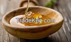 Raw and natural honey