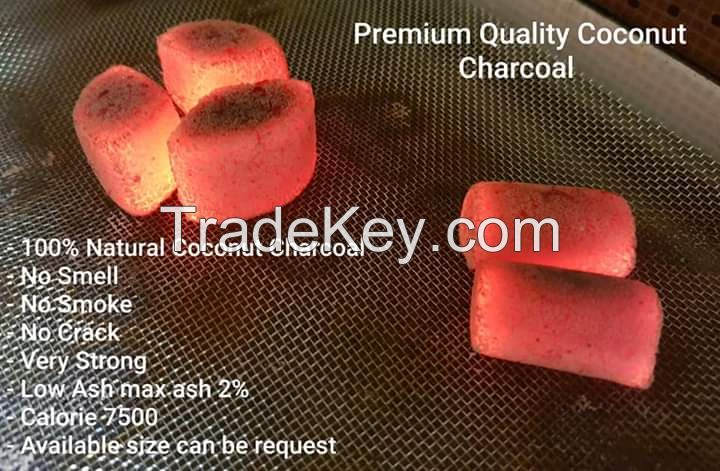 Charcoal Briquette for BBQ or Hookah
