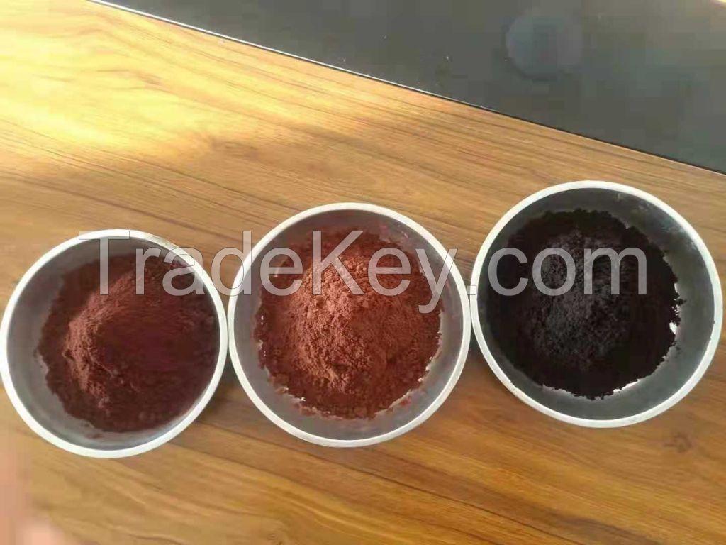 Dutch-process or alkalized cocoa powder