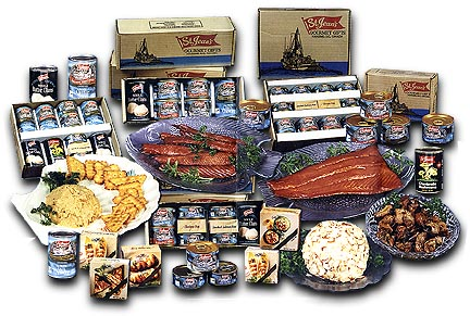 FRESH, FROZEN AND CANNED FOOD, SEAFOOD, FRUITS AND VEGETABLES