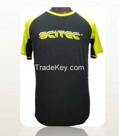 Custom Cotton Crew Neck Baseball Jersey Tee Shirt printing 100% cotton Two Tone short Sleeve men Raglan T Shirt