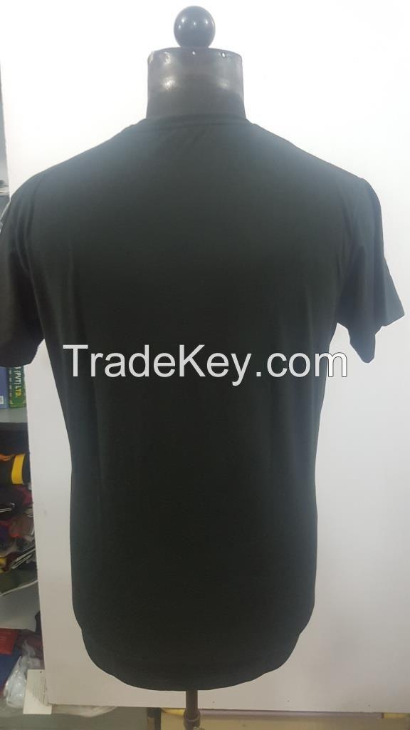 Wholesale High Quality Male Gym Tshirt Men Sportswear Custom Cotton Spandex Man Running T Shirt
