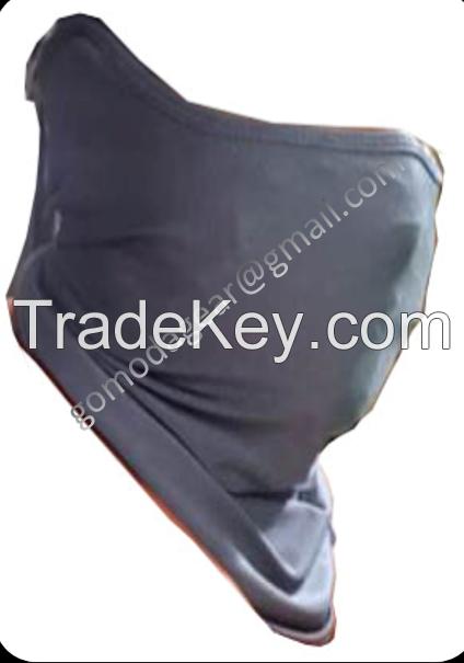 Custom Polyester Microfiber Custom Face Cover Cooling Neck Gaiter sublimation printing Face Tube Neck Gaiter Bandana