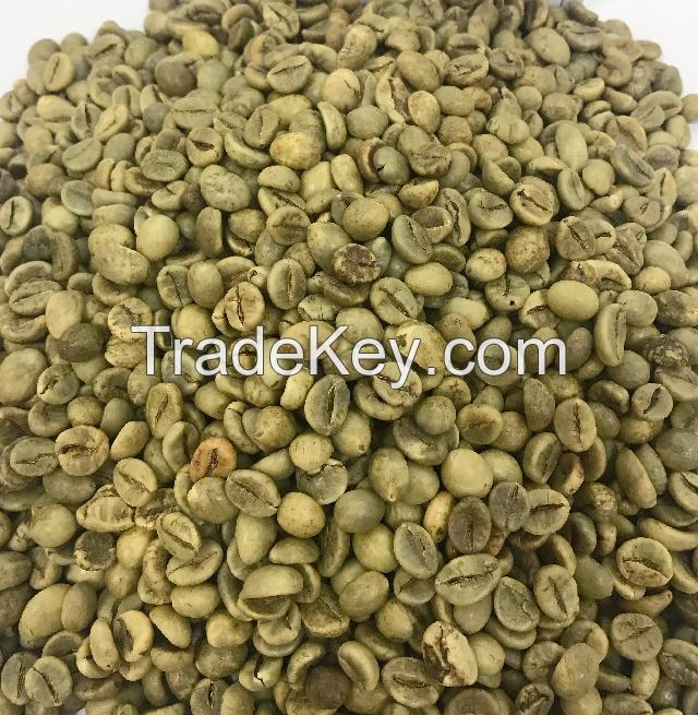 Premium Unroasted Robusta Coffee