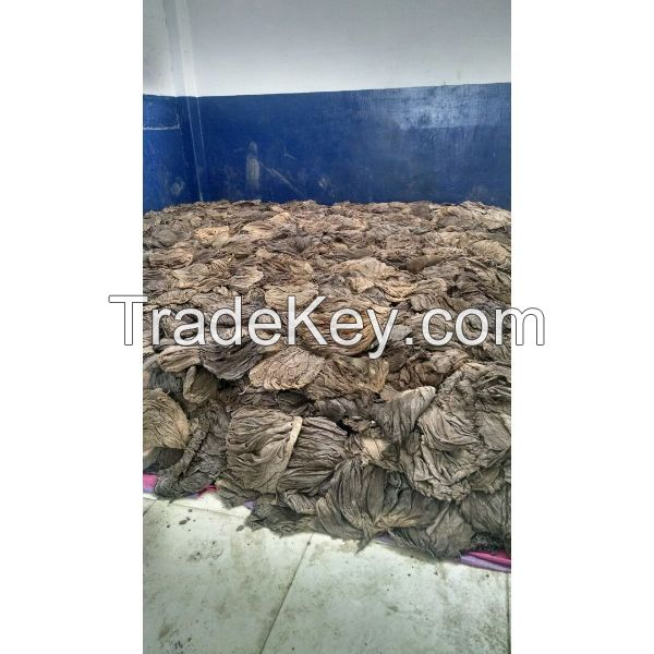 Dried salted cow omasum (stomach) on sale