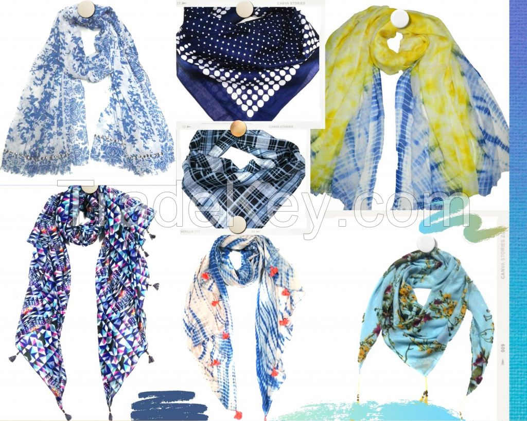 Scarves,stoles,bags and fashion accessoies