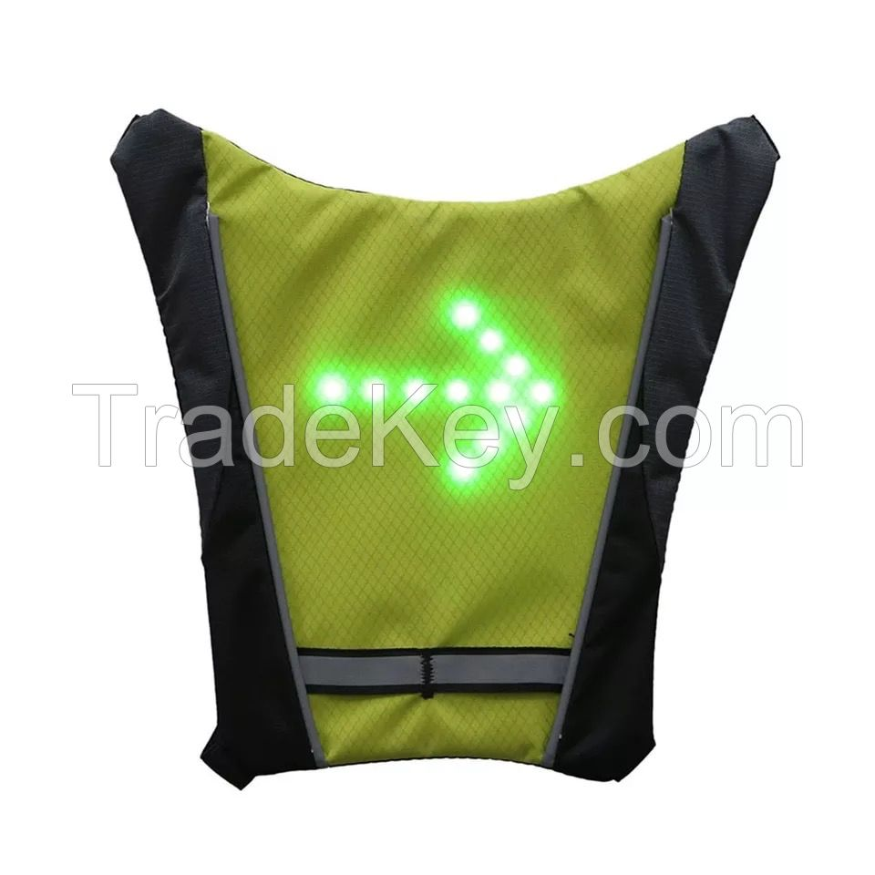 Bike Accessories Bike Light Cycling Bicycle LED Wireless Safety Turn Signal Light Vest Riding Night Guiding