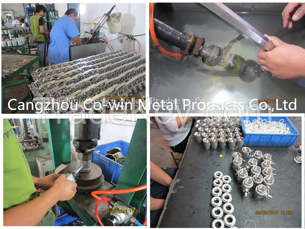 Stainless Steel Pipe Fitting Pedestal type internal thread elbow