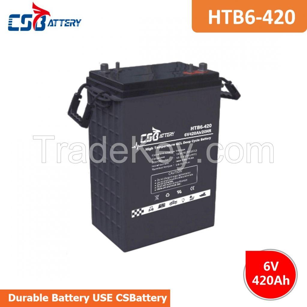 CSBattery 6v420ah Deep Cycle GEL Battery for solar/Wind/ups