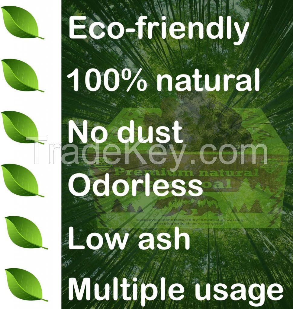 GreenBio Premium Charcoal for grilling
