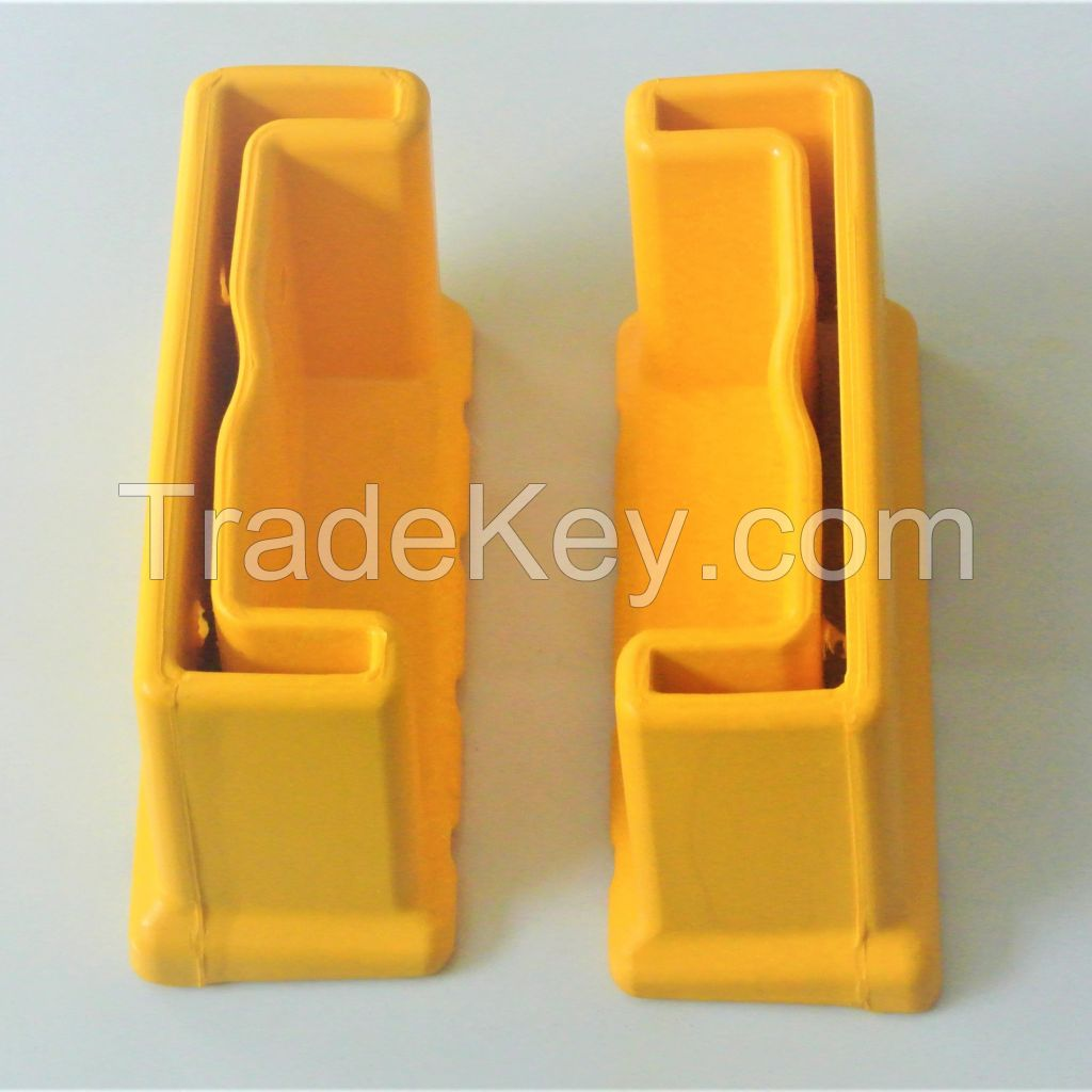 Rubber ladder shoes part for aluminium ladder made in Vietnam factory OEM aluminium ladder rubber shoes