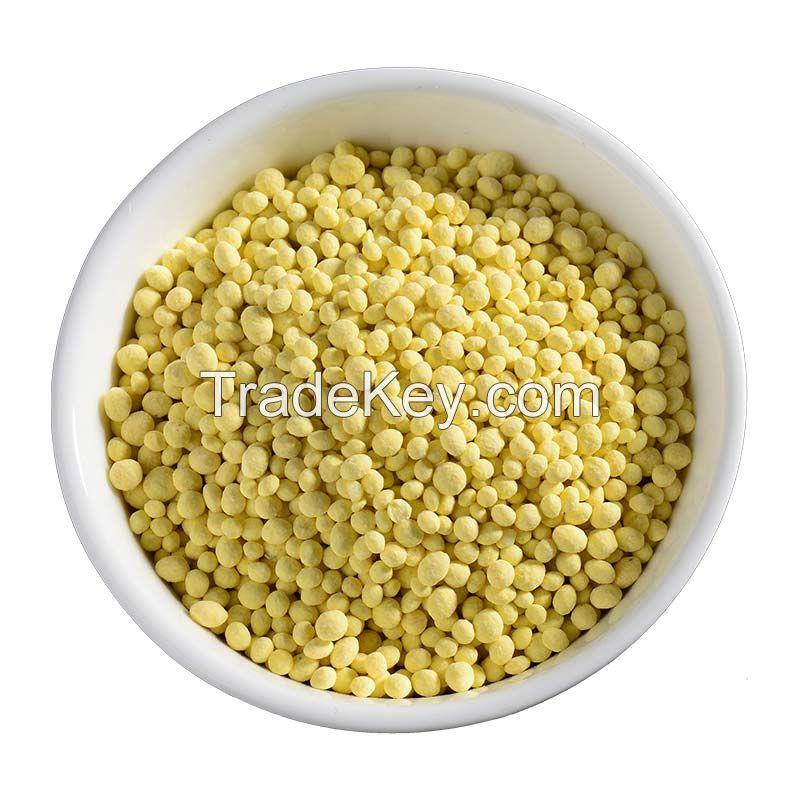 Control release type fertilizer NPK 6-25-19 polymer coated fertilizer