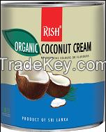 Organic Coconut Cream cans, Coconut milk, 22% fat