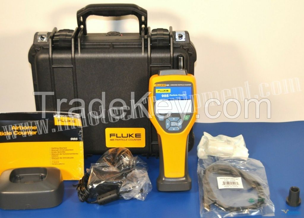 Fluke 985 Air Particle Counter IAQ 6 channels