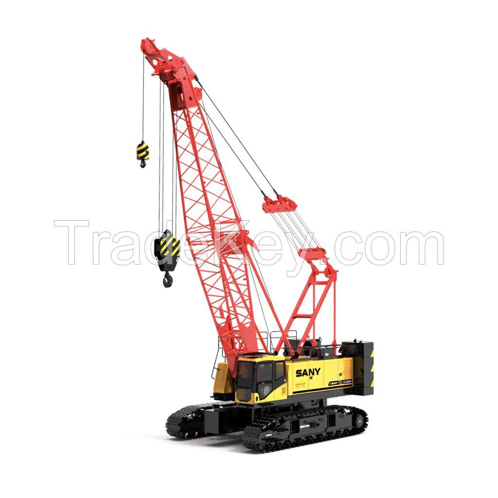 SANY Crawler Crane 150UST(136 Tons) Lifting Capacity