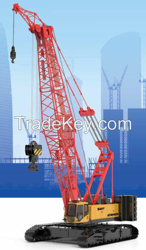 SCC1350A-1 SANY Crawler Crane 135 Tons Lifting Capacity