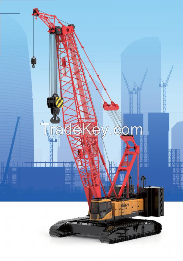 SCC1500A-6 SANY Crawler Crane 150 Tons Lifting Capacity