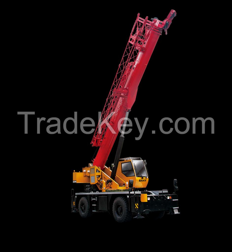 SRC300C SANY Rough-Terrain Crane 30 Tons Lifting Capacity