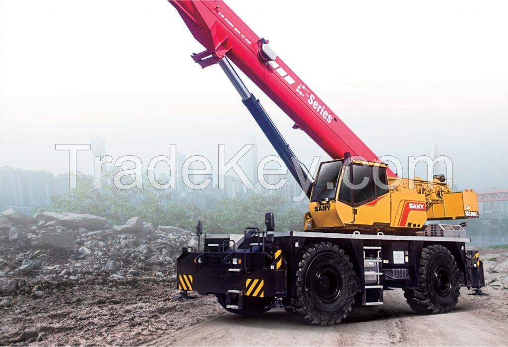 SRC900C SANY Rough-Terrain Crane 90 Tons Lifting Capacity