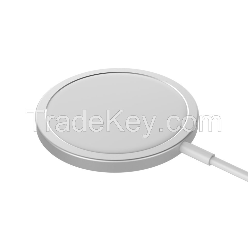 15W Qi  Magsafe wireless fast charging for iPhone 12 magsafe wireless charger