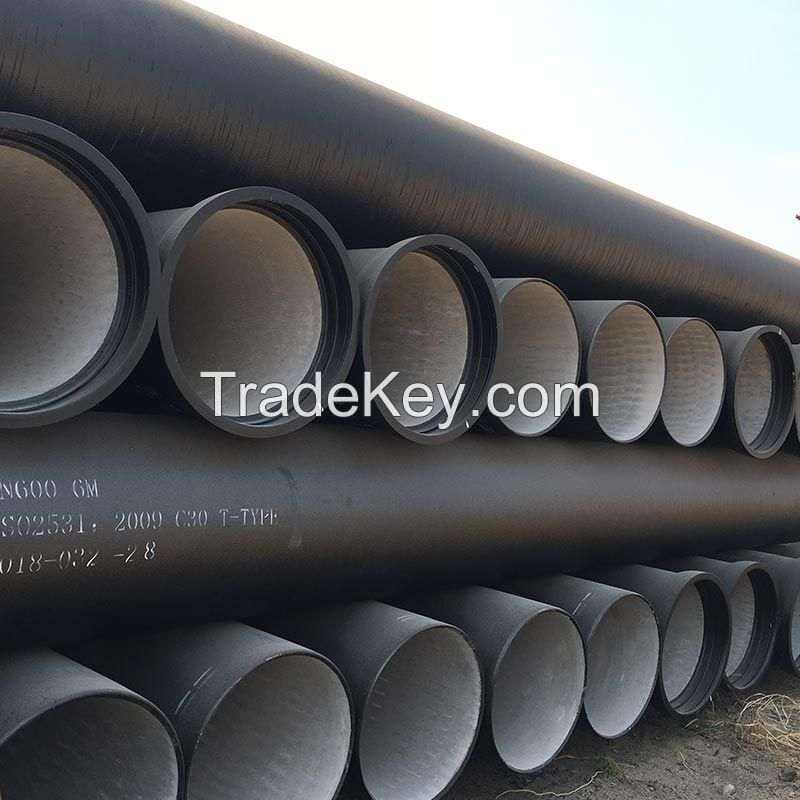 ISO2531 Ductile Iron Pipe K9