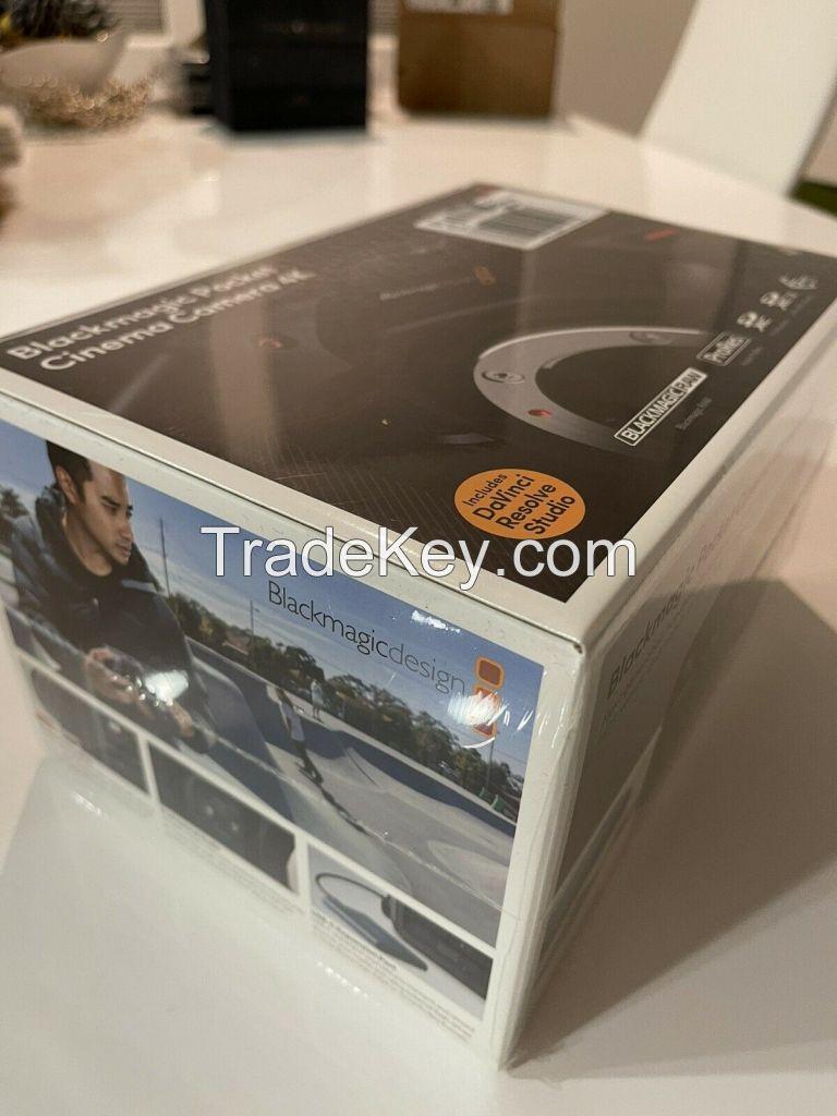 Blackmagic Design Pocket Cinema Camera 4K Camcorder