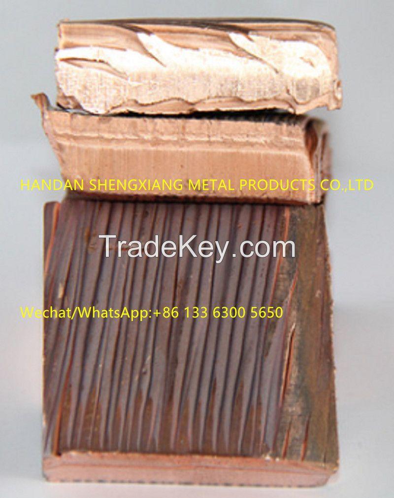 Factory Price  Electrolytic Copper Cathode