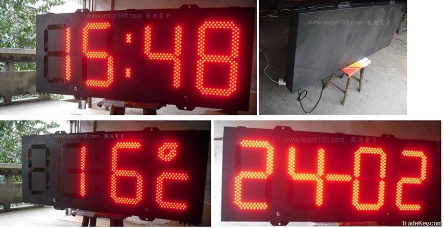 LED clock LED sign