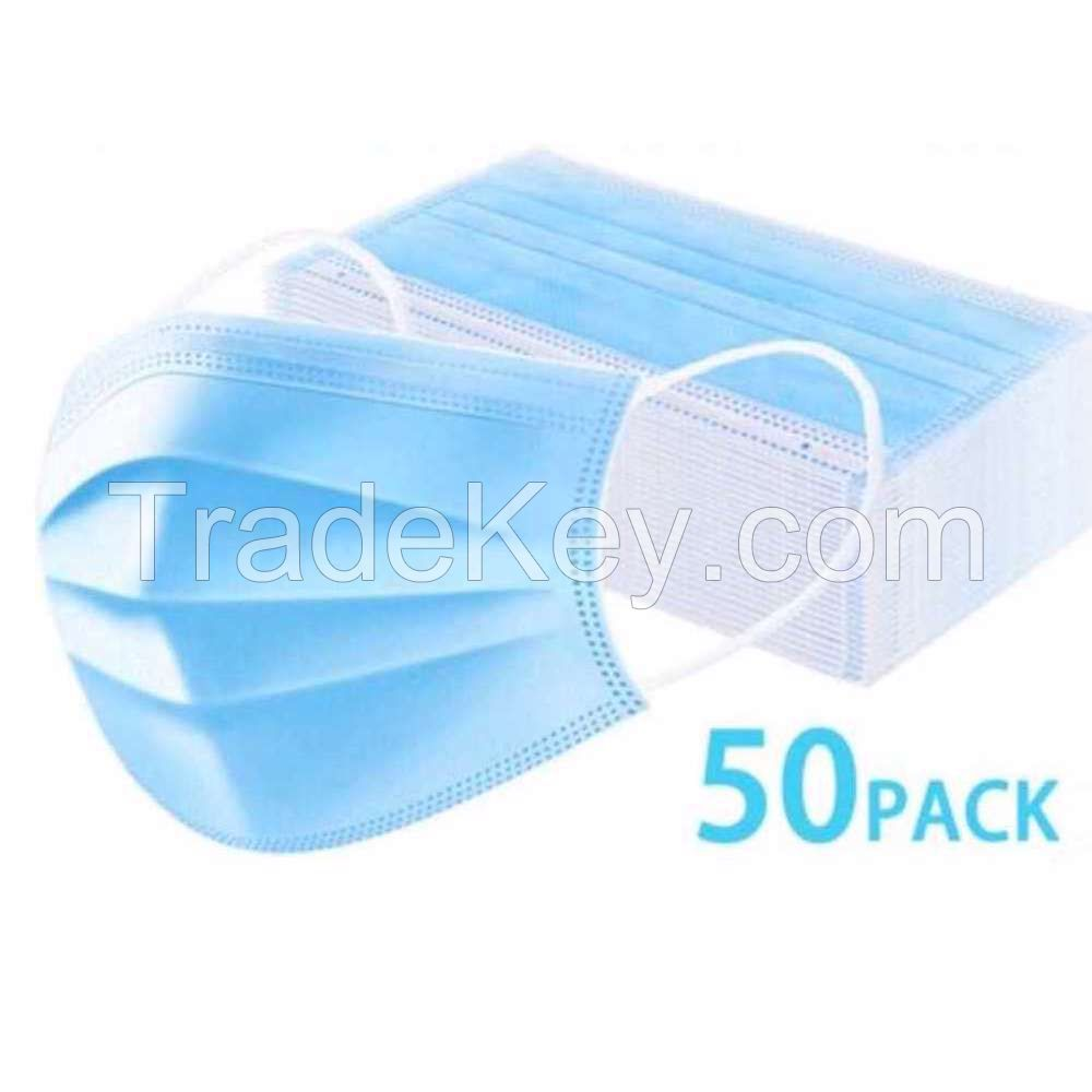 Surgical Face Mask And Gloves