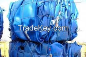 HDPE DRUMS FLAKES/HDPE PELLETS/HDPE DRUMS BALE