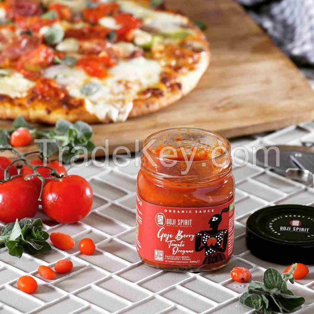 Sauce Organic Goji Berry Tomato - Oregano