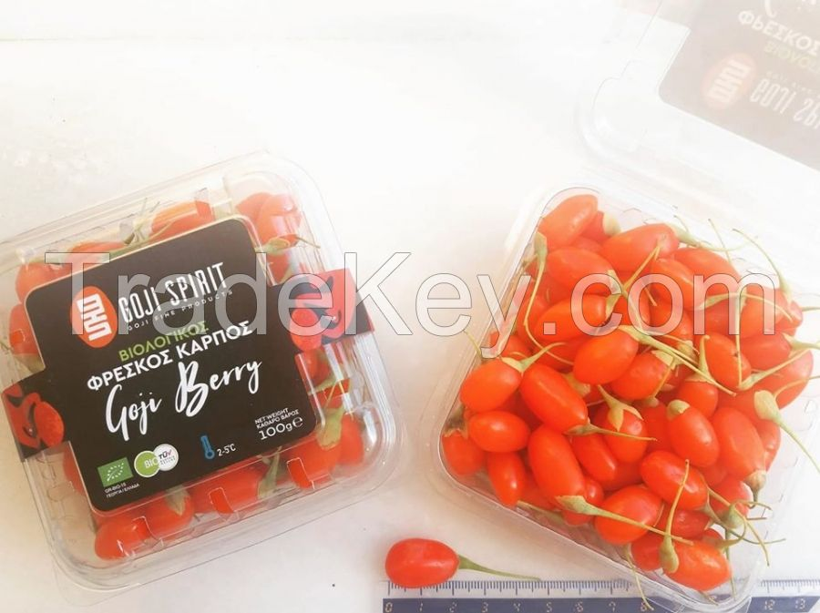 Fresh Organic Goji Berries from Greece